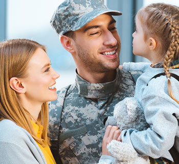 military-dad-with-daughter-and-wife